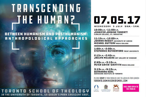 Conference : Transcending the Human?